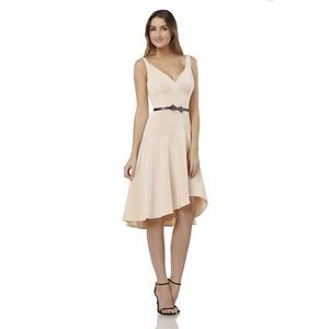 NWT KAY UNGER shell color midi